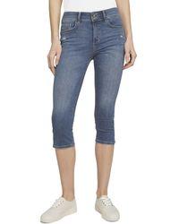 Tom Tailor Kate Slim Capri Jeans - Braun
