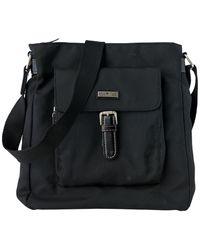 Tom Tailor Umhänge-Tasche aus Nylon - Schwarz