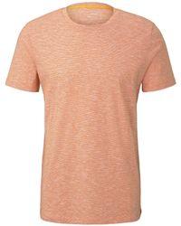 Tom Tailor - DENIM Gestreiftes T-Shirt - Lyst