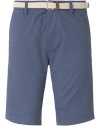 Tom Tailor DENIM Chino Shorts - Blau