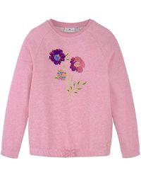 Tom Tailor Mädchen Sweatshirt mit Artwork - Lila