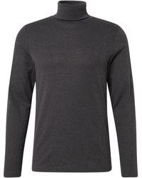 Tom Tailor Langarmshirt mit Turtle-Neck - Grau