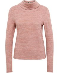 Tom Tailor Sweater im 2-in-1-Look - Pink