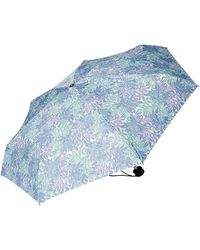 Tom Tailor Unisex gemusterter Regenschirm - Grün