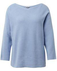 Tom Tailor Pullover mit Streifenstruktur - Blau