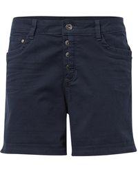 Tom Tailor DENIM Cajsa Shorts - Blau
