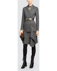 Tomas Maier - Felted Wool Skirt - Lyst