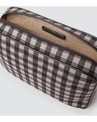 Tomas Maier - Chequer Canvas Tech Bag - Lyst