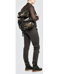 Tomas Maier - Camo Duffle Backpack - Lyst