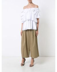 TOME - Ruffled Blouse - Lyst
