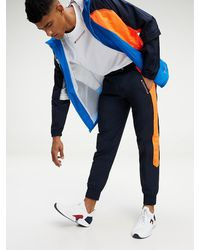 Tommy Hilfiger Colour-blocked Tapered jogger - Blauw