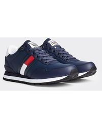 Tommy Hilfiger Logo Sneakers - Grijs
