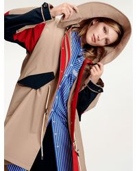 Tommy Hilfiger Tommy Icons Colour-blocked Parka - Meerkleurig