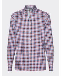 Tommy Hilfiger Slim Fit Overhemd - Rood