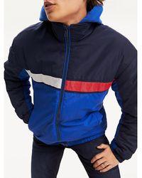 Tommy Hilfiger - Colour-blocked Reflective Flag Jacket - Lyst