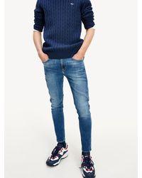 Tommy Hilfiger Miles Skinny Jeans - Blauw