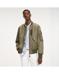09b2a9421 Flag Bomber Jacket - Green