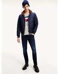 Tommy Hilfiger Bleecker Slim Fit Jeans Met Fading - Blauw