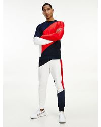 Tommy Hilfiger - Sweat Sport colour-block - Lyst