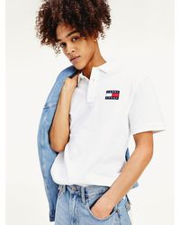 Tommy Hilfiger - Tommy Badge Cotton Regular Fit Polo - Lyst