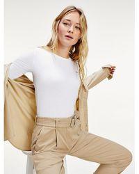 Tommy Hilfiger Essentials Half Sleeve T-shirt - White