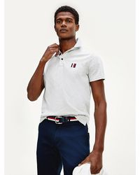 Tommy Hilfiger - Pure Cotton Slim Fit Polo - Lyst