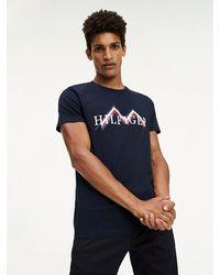 Tommy Hilfiger - Mountain Print T-shirt - Lyst