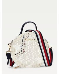 Tommy Hilfiger Tommy Icons Transparante Crossbodytas - Wit