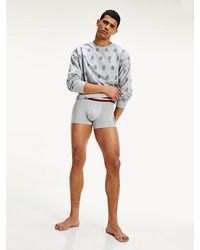 Tommy Hilfiger - Th Cool Signature Waistband Trunks - Lyst