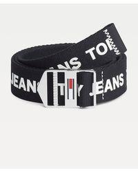 Tommy Hilfiger Tommy Jeans Explorer Riem Met Logo's - Zwart
