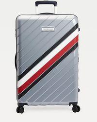 Tommy Hilfiger Signature 75cm Wheelie Case - Grey