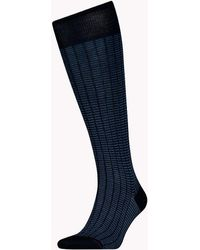Tommy Hilfiger - 1-pack Colour-blocked Knee High Socks - Lyst