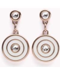 Tommy Hilfiger - Coin Drop Earrings - Lyst