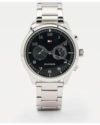 Tommy Hilfiger Multifunctioneel Roestvrijstalen Horloge - Metallic