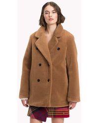 Tommy Hilfiger Short Brown Coat