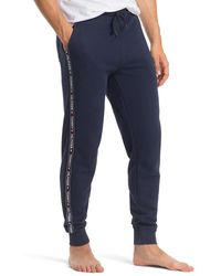 Tommy Hilfiger Jogger Met Logotape - Blauw