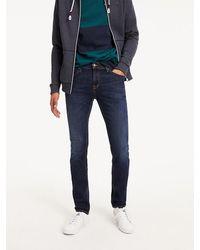 Tommy Hilfiger Slim Fit Jeans Scanton Dynamic True Mid - Blauw