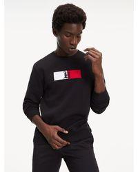 Tommy Hilfiger Lewis Hamilton Relaxed Fit Sweatshirt - Zwart