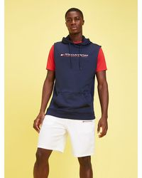 Tommy Hilfiger - Sleeveless Knitted Hoody - Lyst