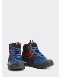 Tommy Hilfiger Outdoor Boot Van Gemengde Materialen - Blauw