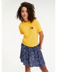 Tommy Hilfiger - Tommy Badge Cropped T-shirt - Lyst