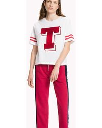 Tommy Hilfiger - Cotton Jersey Oversized T-shirt - Lyst