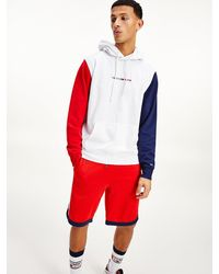 Tommy Hilfiger - Sweat à capuche colour-block - Lyst