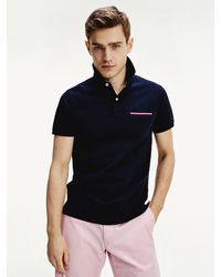 Tommy Hilfiger - Signature Chest Pocket Polo - Lyst