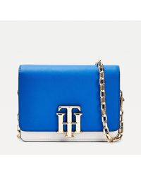 Tommy Hilfiger Tonal Small Crossover Bag - Blue