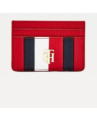 Tommy Hilfiger Th Essence Signature Creditcardhouder - Rood