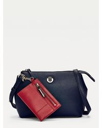 Tommy Hilfiger Charming Crossover With Pouch - Blue