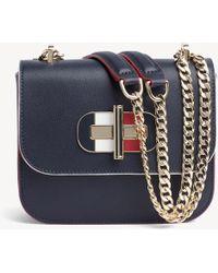 dfa7211683e13 Tommy Hilfiger - Turnlock Mini Crossover Womens Bag - Lyst