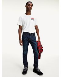 Tommy Hilfiger Scanton Slim Fit Jeans - Blauw