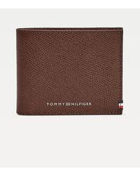 Tommy Hilfiger Th Business Kleine Creditcardportemonnee - Bruin